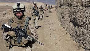 """חיילי צבא ארה""""ב, צילום: בלומברג"""