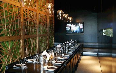 חדר פרטי במסעדת צפרה