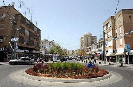 רחוב סוקולוב בהרצליה (ארכיון)
