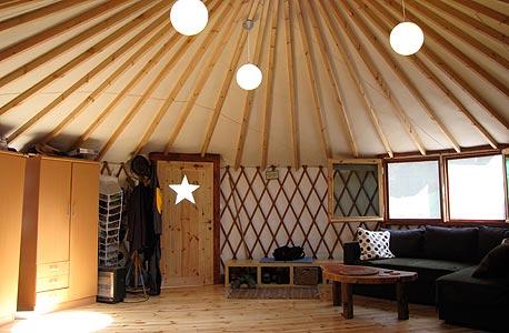 פנים האוהל. אלטרנטיבה ראויה למגורים