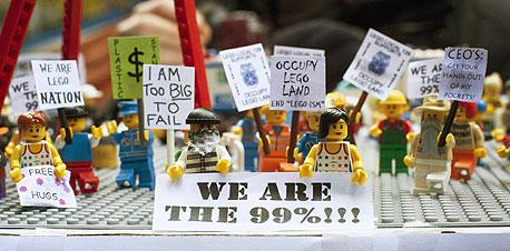 """המחאה הכלכלית בארצות הברית. """"המפגינים לא מבינים מה הם רוצים"""""""