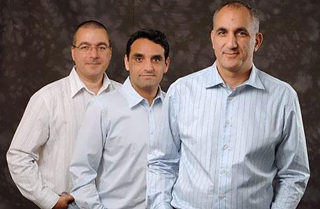 מייסדי קוטנדו - זהבי (מימין), דריי ותרוגמן