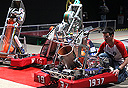 אחד הרובוטים בתערוכה