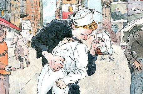 שער שנוי במחלוקת מ־1996, בעקבות הצילום המפורסם של נשיקת האחות והמלח בטיימס סקוור, ניו יורק, עם סיום מלחמת העולם השנייה