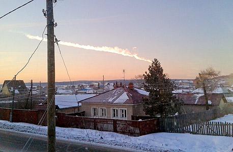 """המטאור שהתפוצץ החודש ברוסיה. נוויץ': """"אנחנו החיות היחידות שיכולות להתכונן לאירועים כאלה"""""""