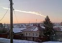 המטאור שהתפוצץ ברוסיה בתחילת החודש