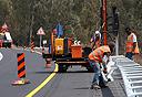 """עובדי מע""""צ, עבודות בכביש"""