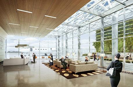טרמינל גוגל סן חוזה נמל תעופה הדמיה