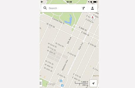 גוגל Maps ניווט מפות