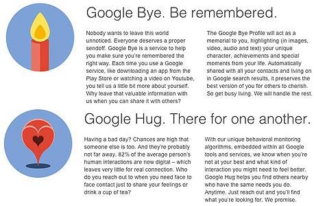 גוגל מחאה פרודיה