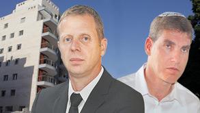 עורכי הדין חגי אולמן (מימין) ושלום גולדבלט,