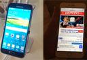 אייפון 6 וגלקסי S5, צילום: נמרוד צוק, הראל עילם