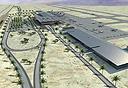 הדמיית מבנים בנמל התעופה בתמנע