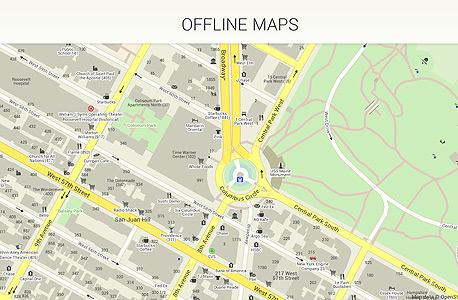 מצעד ה אפליקציות של גוגל MAPSME