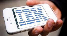 אייפון אייפד אפל IBM אפליקציות