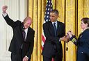 אלי הררי וברק אובמה, צילום: אי פי איי