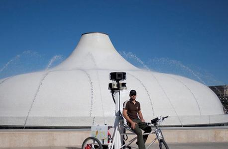 מוזיאון ישראל גוגל אופנים סטריט ויו