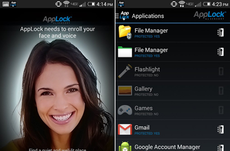 אפליקציות אנדרואיד applock