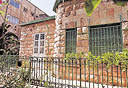 """ביתו של חיים סלומון ברחוב רמב""""ן, צילום: אלכס קולמויסקי"""