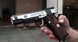 אקדח קולט נשק, צילום: יוטיוב