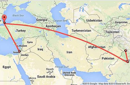 מפות משתתפי פרויקט מה גוגל יודעת 2