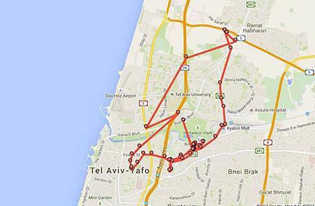 מפות משתתפי פרויקט מה גוגל יודעת 3
