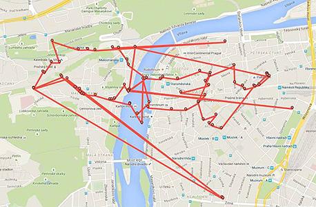 מפות משתתפי פרויקט מה גוגל יודעת 4