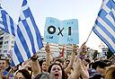 יוון הפגנה, צילום: איי פי