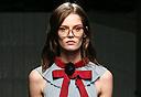 תצוגת אופנה גוצ'י, צילום: אי פי איי
