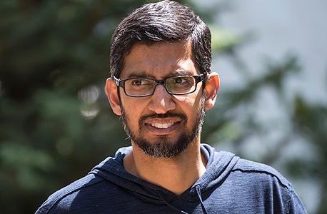 """סנדר פיצ'אי סונדר פיצ'אי מנכ""""ל גוגל 2, צילום: בלומברג"""