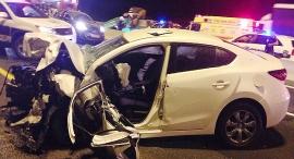 """תאונת דרכים (ארכיון), צילום: דוברות מד""""א"""