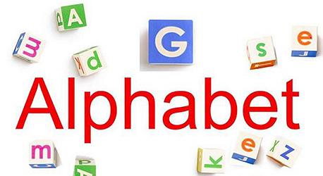 גוגל לוגו אלפבית
