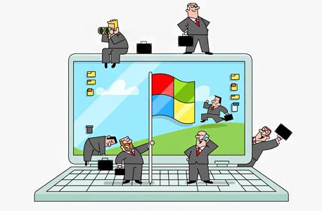 גוגל השגחה פרטית, איור: ערן מנדל