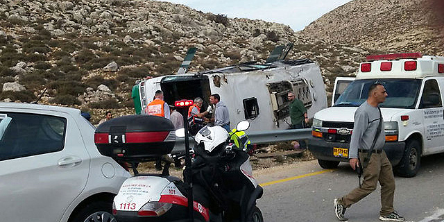 אוטובוס התהפך: החיילת סתיו פרטוש נהרגה וכ-40 חיילים נפצעו בהתהפכות