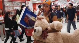 """קניות בארה""""ב, צילום: איי אף פי"""