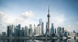שנגחאי סין מרכז עסקים, צילום: שאטרסטוק