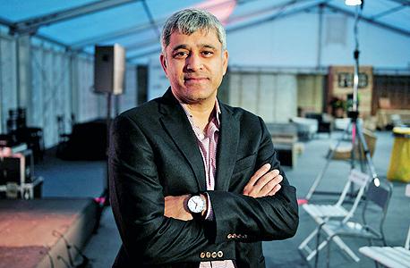 אמית סינג נשיא חטיבת המוצרים הארגוניים של גוגל, צילום: בלומברג