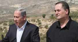 ישראל כץ שר תחבורה ו בנימין נתניהו ראש ממשלה, צילום: אלכס קולומויסקי