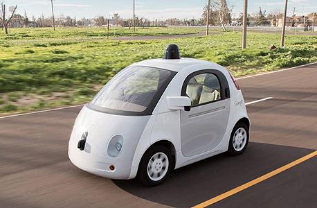 מכונית של גוגל google car, צילום: גוגל