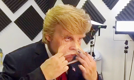 ג'וני דפ דונלד טראמפ, צילום: funny or die