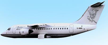 מטוס נוסעים מדגם ג'מבולינו שבבעלות קווינקו