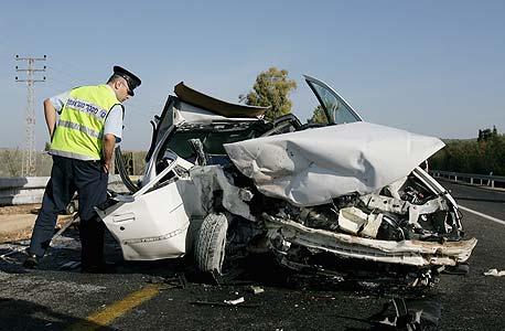 תאונת דרכים (ארכיון). הנזק למשק מכל הרוג בתאונה - 6.1 מיליון שקל