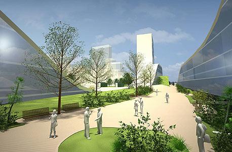 בנייה ירוקה (אילוסטרציה)