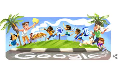 דודל יום העצמאות גוגל, צילום: גוגל