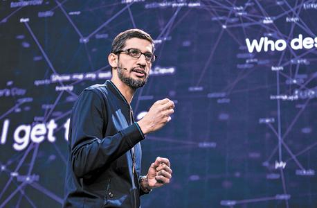 """מנכ""""ל גוגל סונדאר פיצ'אי, צילום: בלומברג"""
