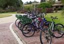 חניית אופניים, צילום: מאיר אזולאי
