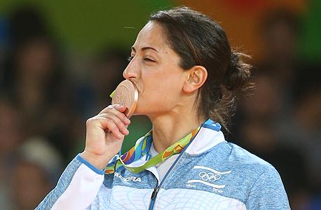 ירדן ג'רבי אחרי הזכייה במדליית ארד
