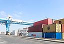 מכולות בנמל, צילום: גדי קבלו