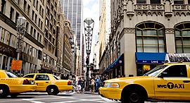 רחוב ה יהלומים ניו יורק רחוב 47 פינת השדרה החמישית מנהטן, צילום: בלומברג