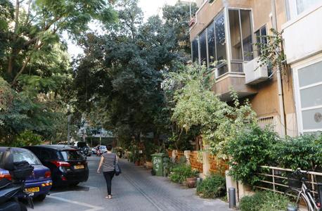 """רחוב מיכ""""ל. נחשב לאחד היפים בתל אביב, ודייריו מנהלים מעין קהילה קטנה ושוקקת שבה כולם מכירים את כולם"""
